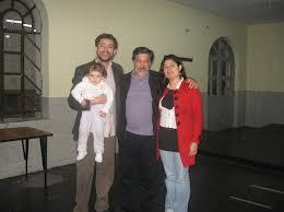 Con nuestro tutor y maestro Miguel De Zubiria